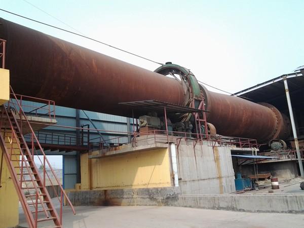 青海氧化锌回转窑生产线