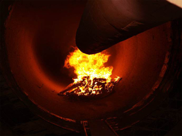 活性炭回转窑点火图