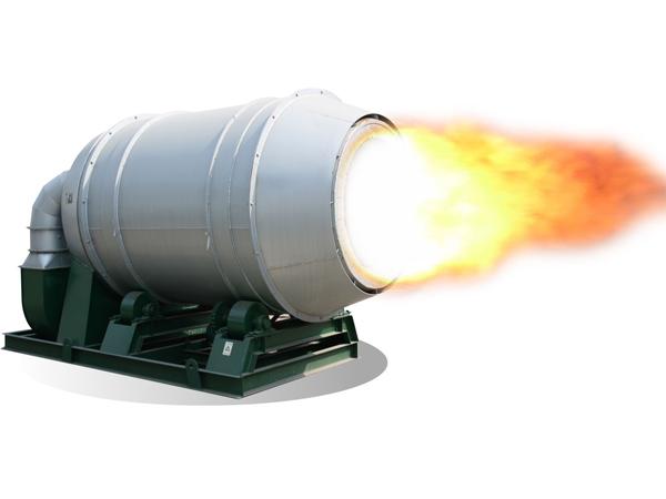 煤粉燃烧的火焰