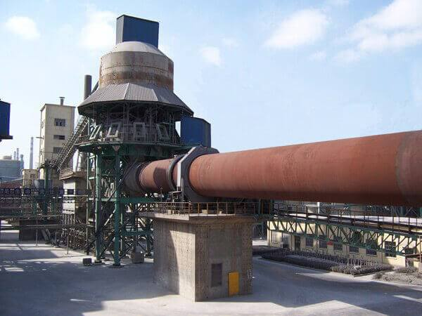 吉林年产十二万吨冶金回转窑生产线